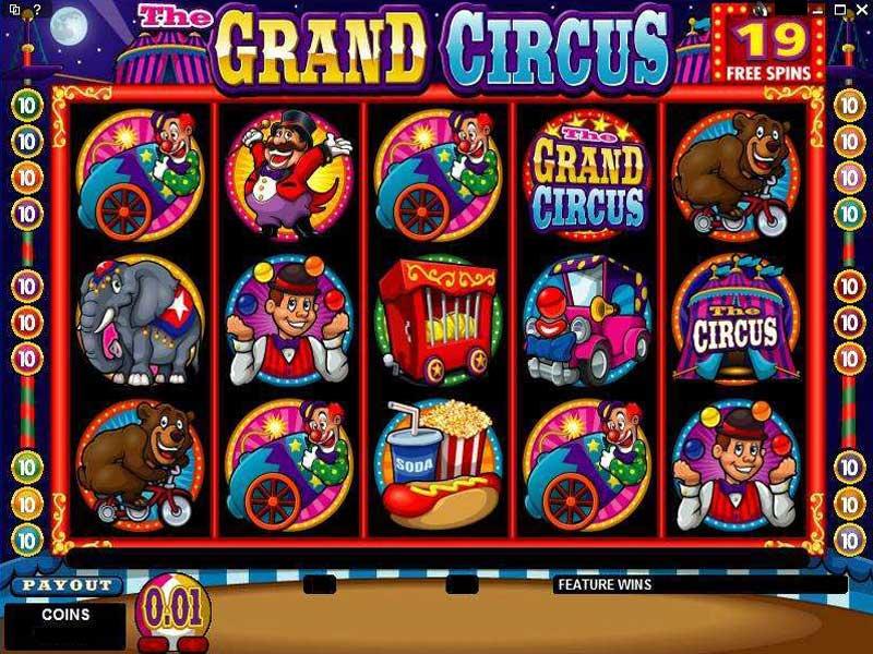 The Grand Circus Slot